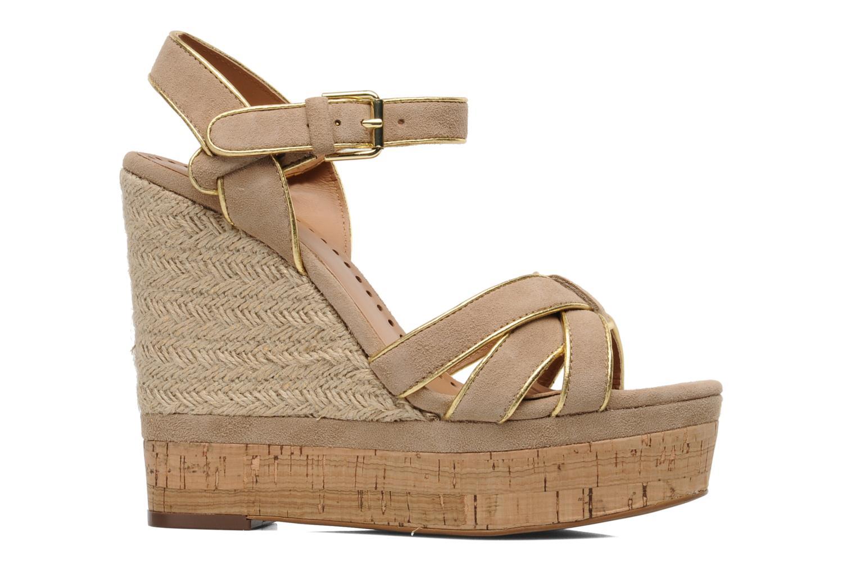 Sandales et nu-pieds Ash Grazia Bis Beige vue derrière