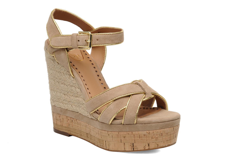 Sandales et nu-pieds Ash Grazia Bis Beige vue détail/paire