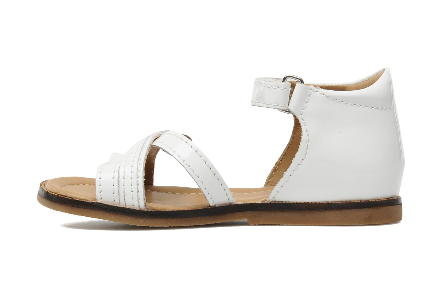 Sandals Mod8 Antrass White front view