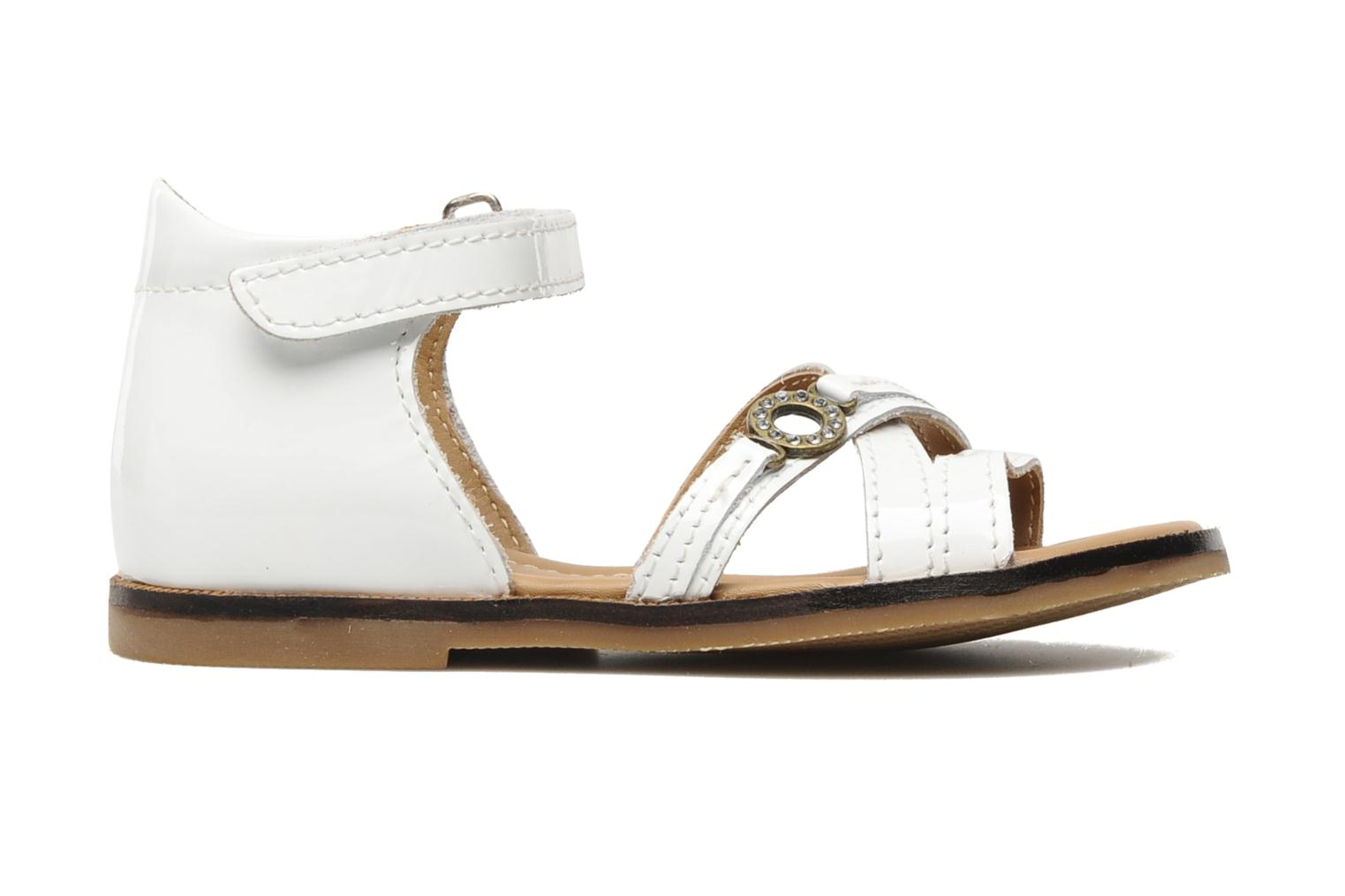 Sandals Mod8 Antrass White back view