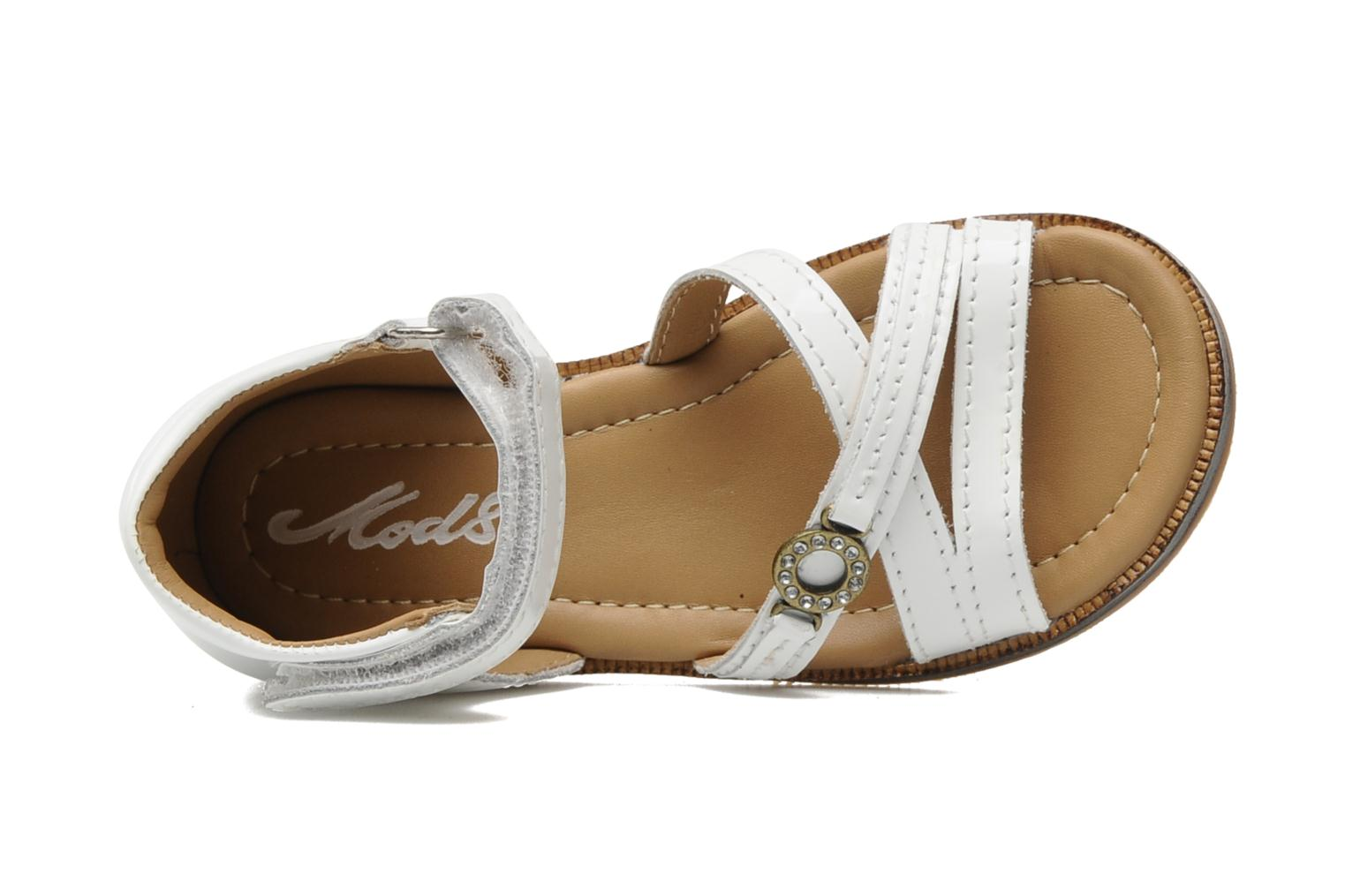 Sandals Mod8 Antrass White view from the left