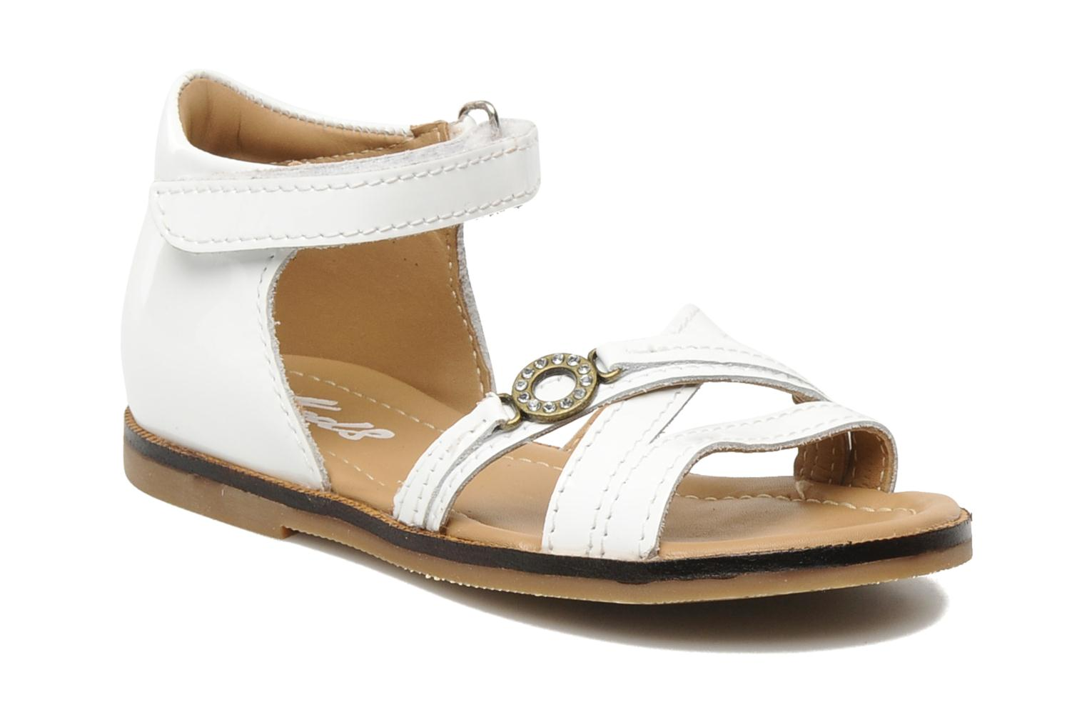 Sandals Mod8 Antrass White detailed view/ Pair view