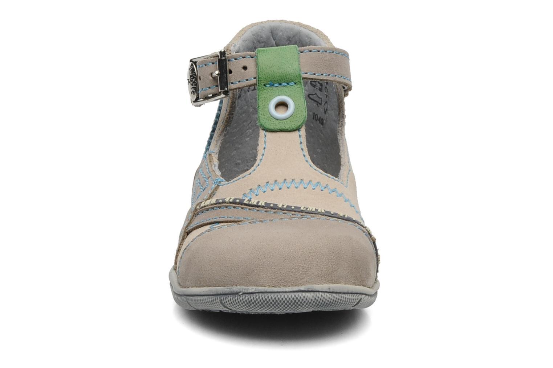 Bottines d'été Little Mary Motard Beige vue portées chaussures