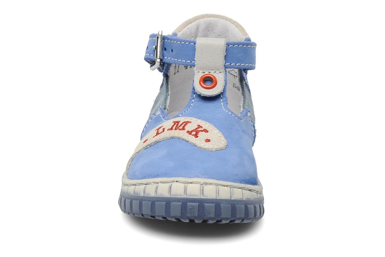 Bottines d'été Little Mary Marius Bleu vue portées chaussures