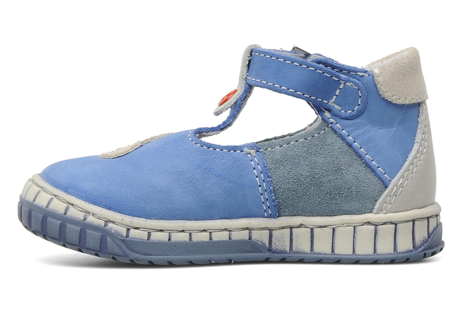 Summer boots Little Mary Marius Blue front view