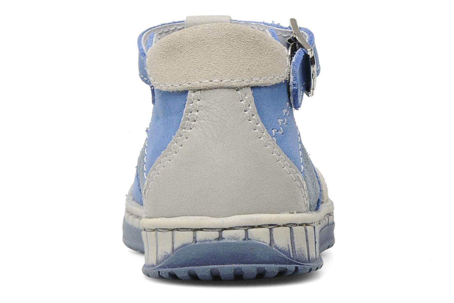 Summer boots Little Mary Marius Blue view from the right