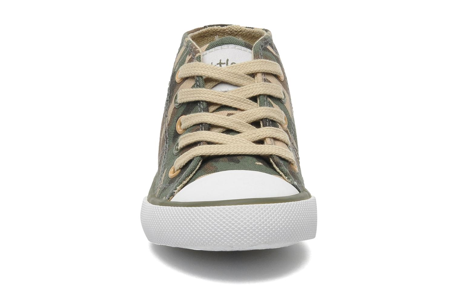 Trainers Little Mary Little Basket Green model view
