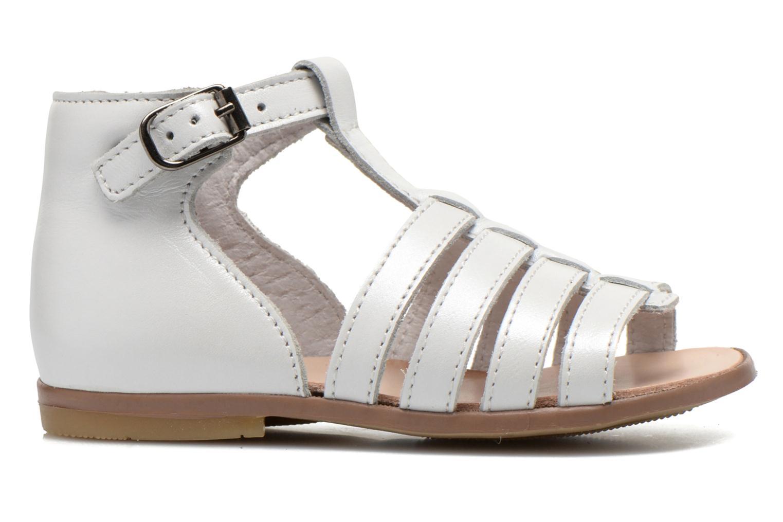 Sandales et nu-pieds Little Mary Hosmose Blanc vue derrière