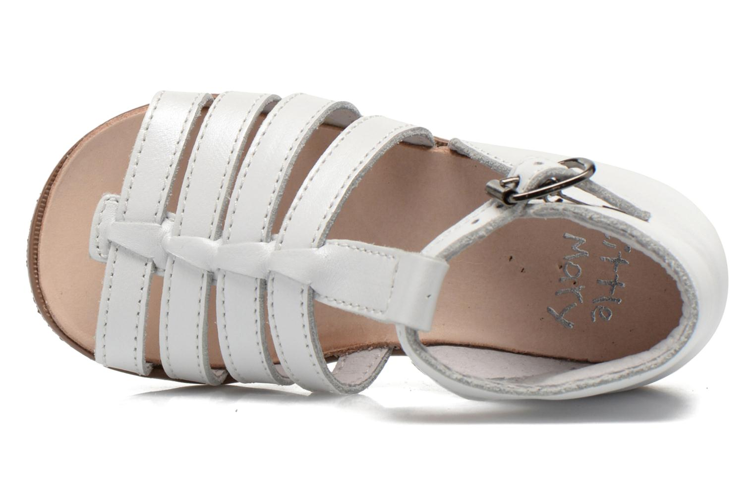 Sandalen Little Mary Hosmose Wit links