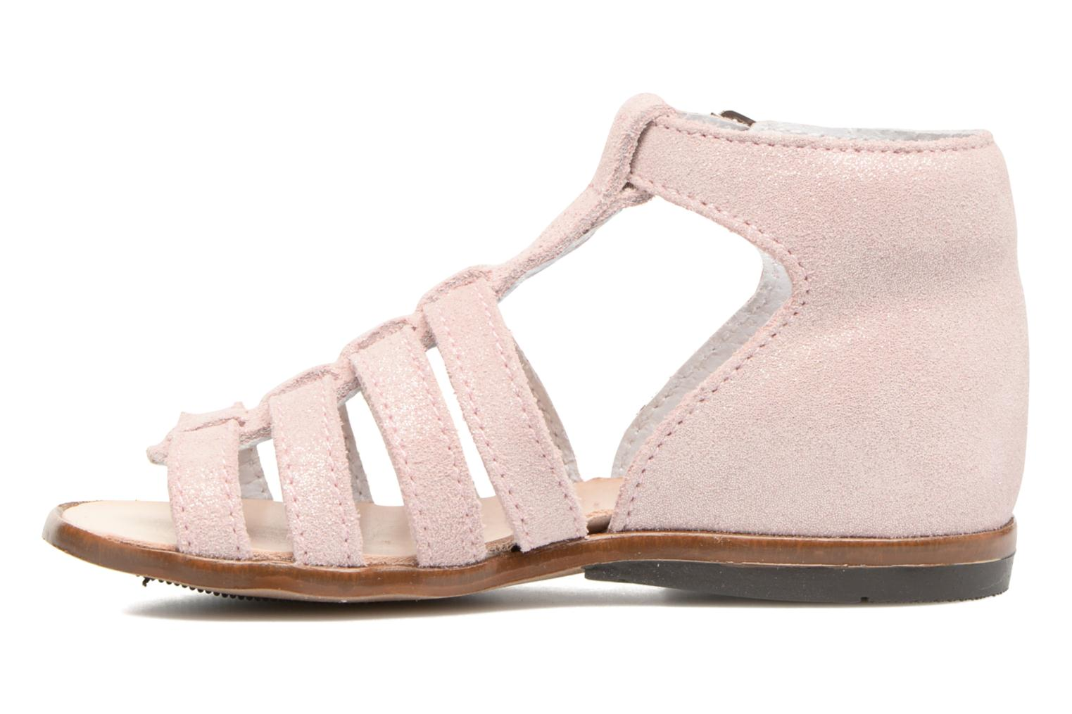 Sandals Little Mary Hosmose Pink front view