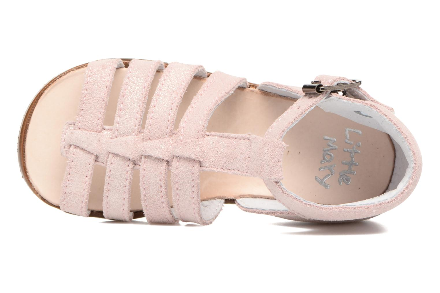 Sandalen Little Mary Hosmose rosa ansicht von links