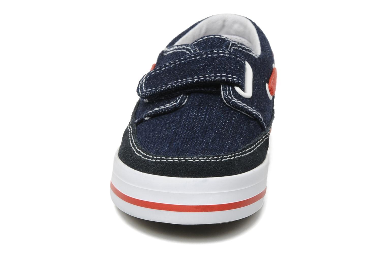 Chaussures à scratch Start Rite Ahoy Bleu vue portées chaussures
