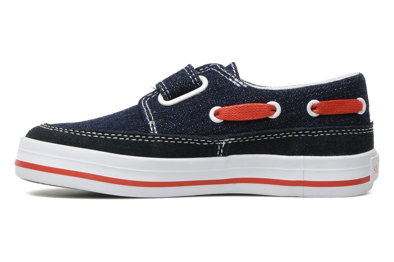 Chaussures à scratch Start Rite Ahoy Bleu vue face