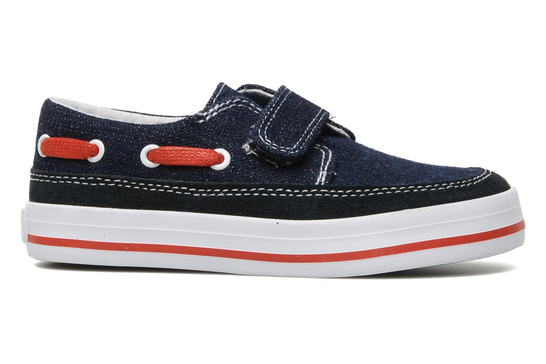 Chaussures à scratch Start Rite Ahoy Bleu vue derrière