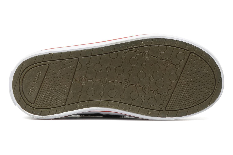 Chaussures à scratch Start Rite Ahoy Bleu vue haut