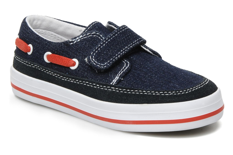 Chaussures à scratch Start Rite Ahoy Bleu vue détail/paire