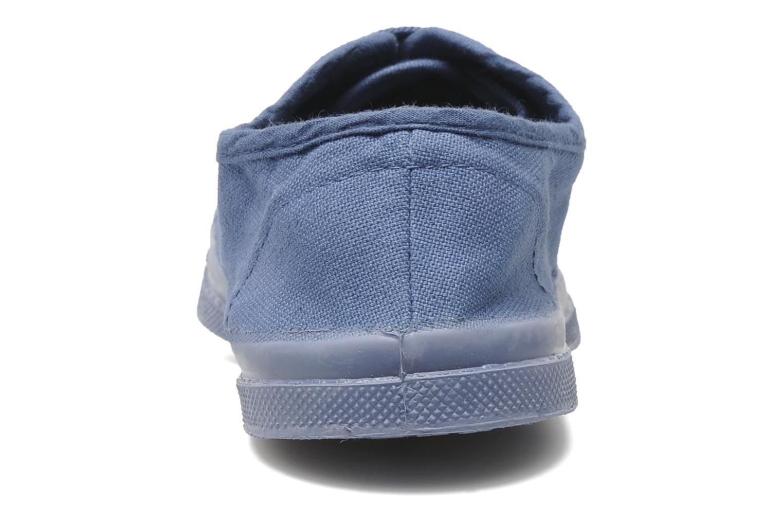 Baskets Bensimon Tennis Colorsole E Bleu vue droite