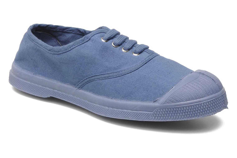 Baskets Bensimon Tennis Colorsole E Bleu vue détail/paire