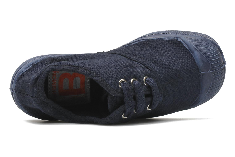 Sneakers Bensimon Tennis Colorsole E Azzurro immagine sinistra