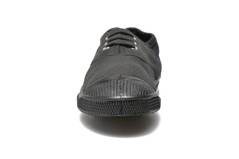 Deportivas Bensimon Tennis Colorsole E Negro vista del modelo