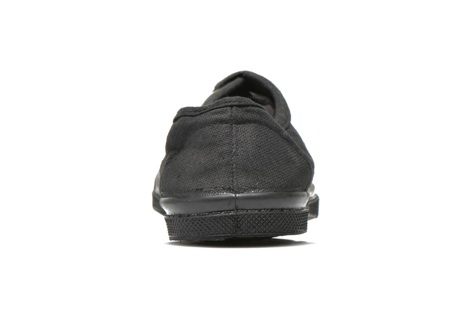 Trainers Bensimon Tennis Colorsole E Black view from the right
