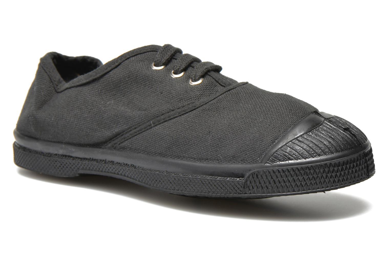 Sneakers Bensimon Tennis Colorsole E Zwart detail