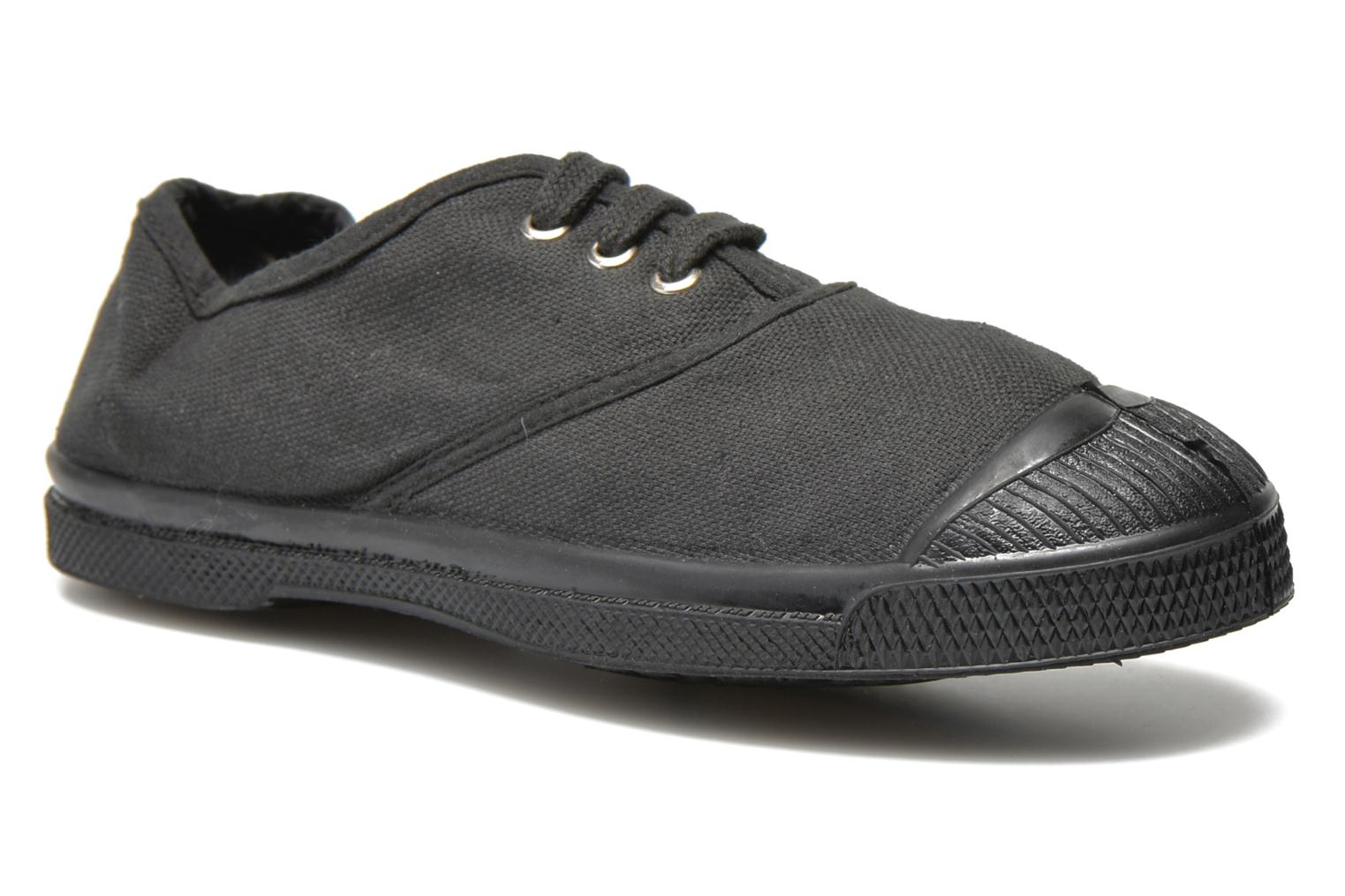 Trainers Bensimon Tennis Colorsole E Black detailed view/ Pair view