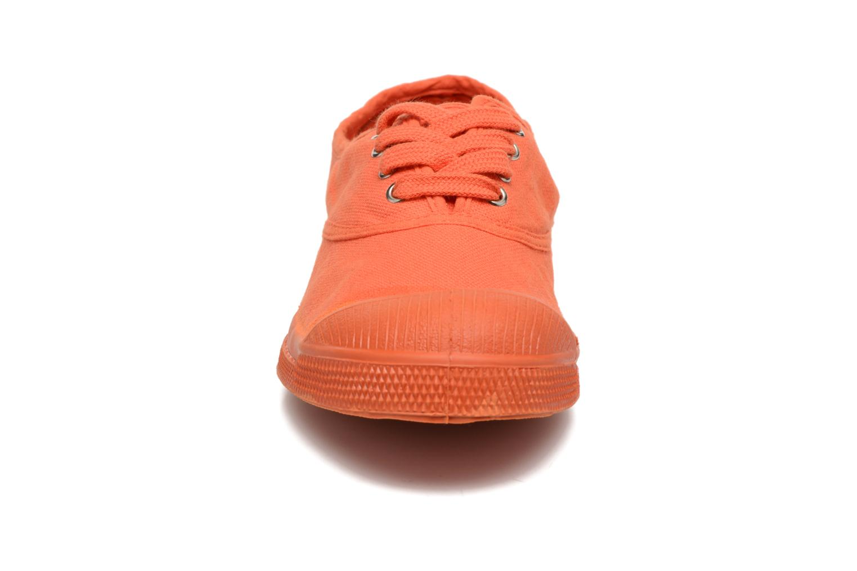 Sneaker Bensimon Tennis Colorsole E orange schuhe getragen