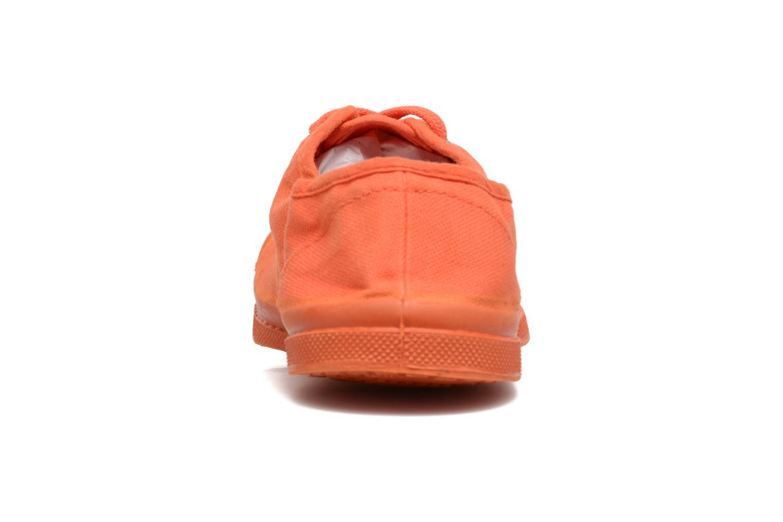 Deportivas Bensimon Tennis Colorsole E Naranja vista lateral derecha