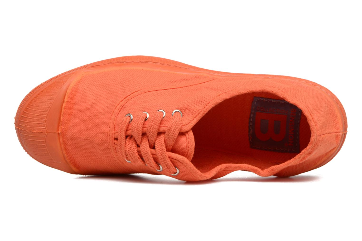 Trainers Bensimon Tennis Colorsole E Orange view from the left