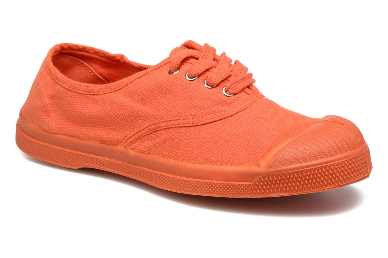 Sneakers Bensimon Tennis Colorsole E Orange detaljeret billede af skoene