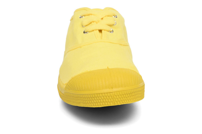 Baskets Bensimon Tennis Colorsole E Jaune vue portées chaussures