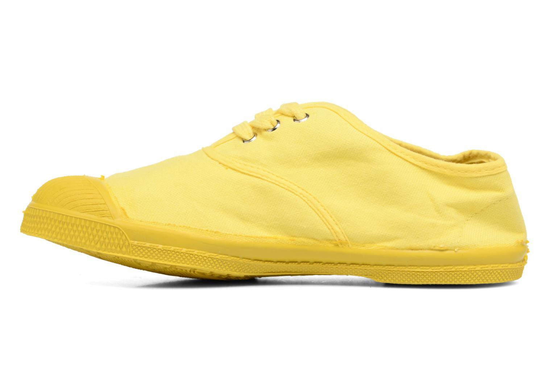 Trainers Bensimon Tennis Colorsole E Yellow front view
