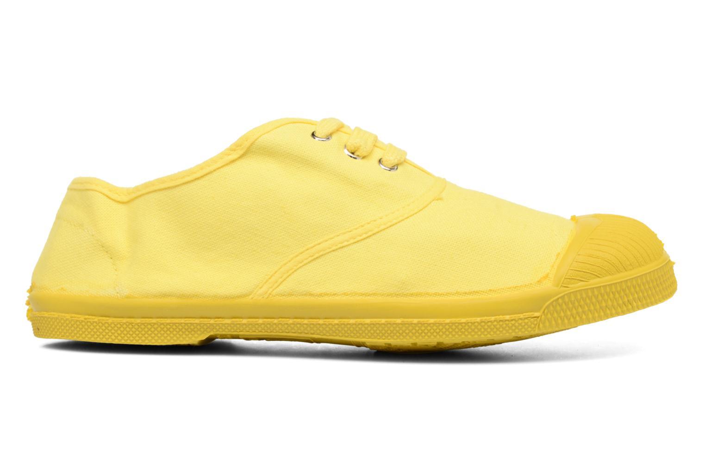 Deportivas Bensimon Tennis Colorsole E Amarillo vista lateral derecha