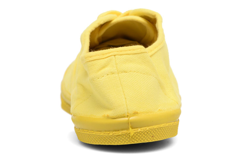 Deportivas Bensimon Tennis Colorsole E Amarillo vistra trasera