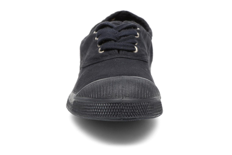 Baskets Bensimon Tennis Colorsole E Bleu vue portées chaussures