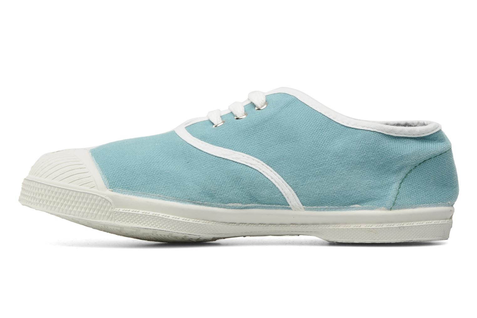 Baskets Bensimon Tennis Colorpiping E Bleu vue face