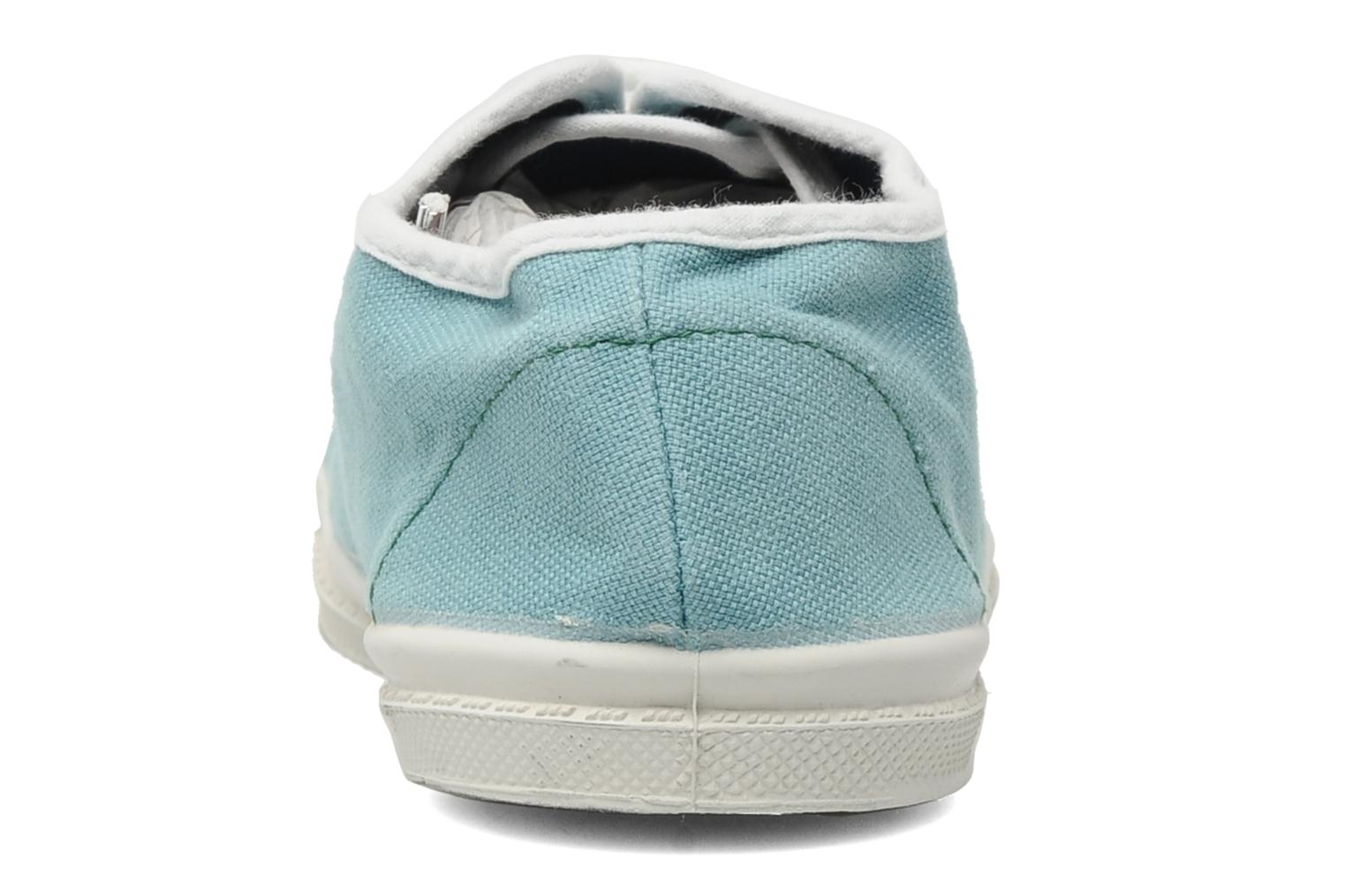 Baskets Bensimon Tennis Colorpiping E Bleu vue droite