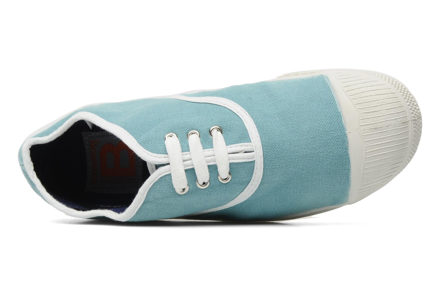 Baskets Bensimon Tennis Colorpiping E Bleu vue gauche