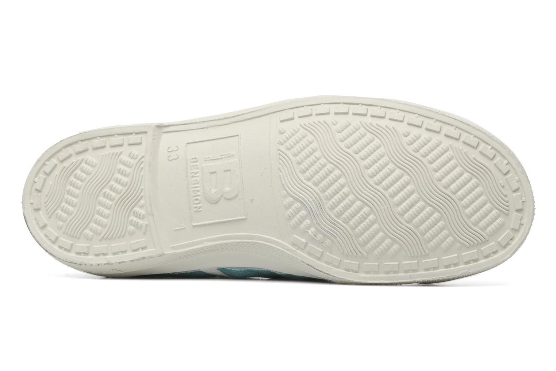 Sneakers Bensimon Tennis Colorpiping E Blå bild från ovan