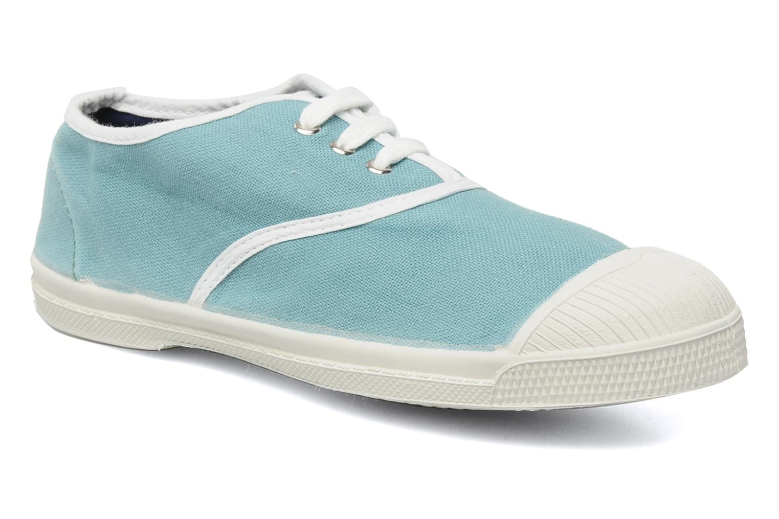 Baskets Bensimon Tennis Colorpiping E Bleu vue détail/paire