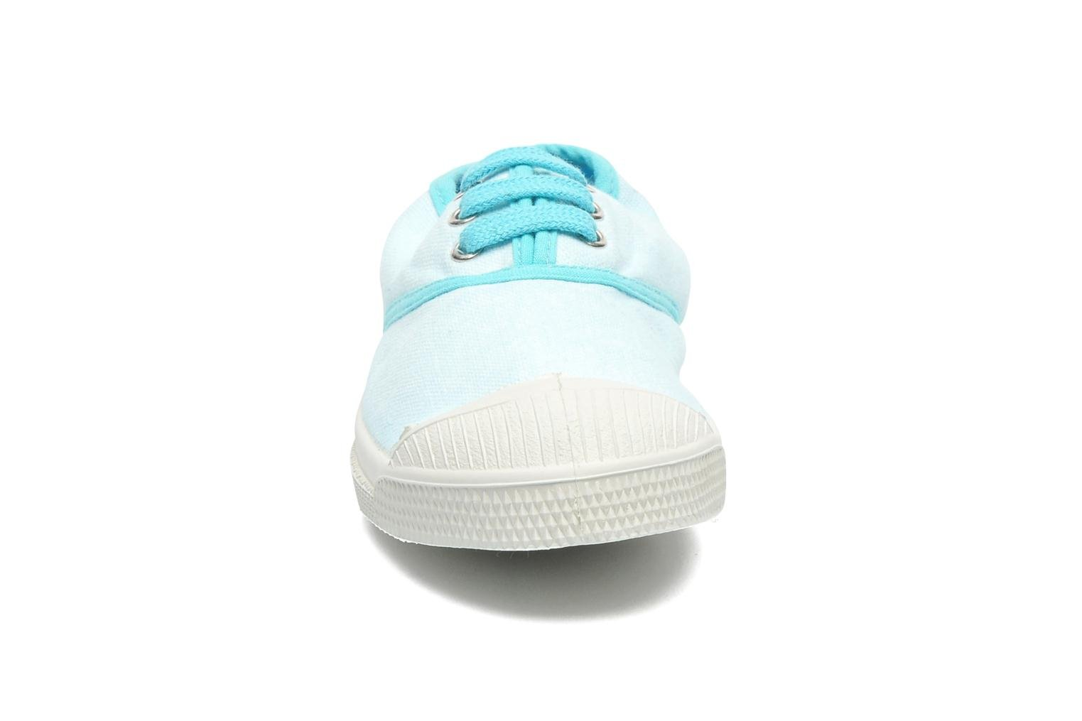 Trainers Bensimon Tennis Colorpiping E Blue model view