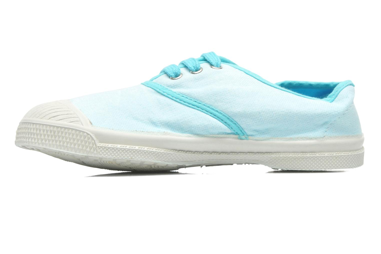 Trainers Bensimon Tennis Colorpiping E Blue front view