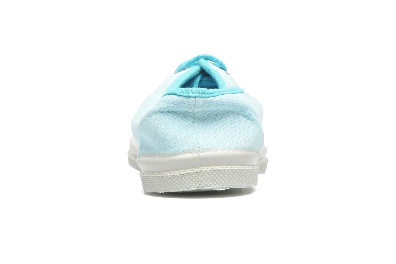 Sneakers Bensimon Tennis Colorpiping E Blå Bild från höger sidan