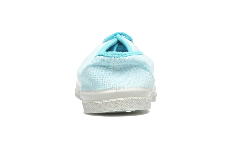 Sneakers Bensimon Tennis Colorpiping E Blauw rechts