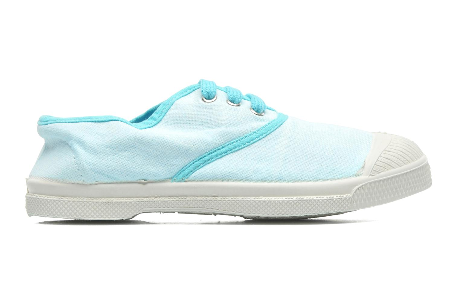 Trainers Bensimon Tennis Colorpiping E Blue back view