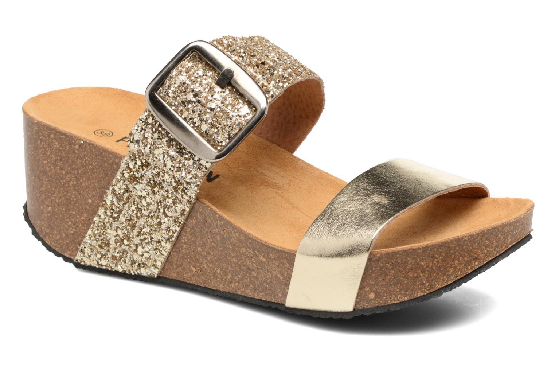 Clogs & Pantoletten Plakton So Rock gold/bronze detaillierte ansicht/modell
