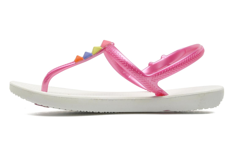 Sandales et nu-pieds Havaianas Kids Freedom Blanc vue face