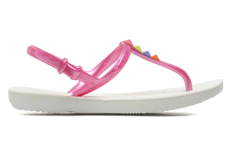 Sandales et nu-pieds Havaianas Kids Freedom Blanc vue derrière