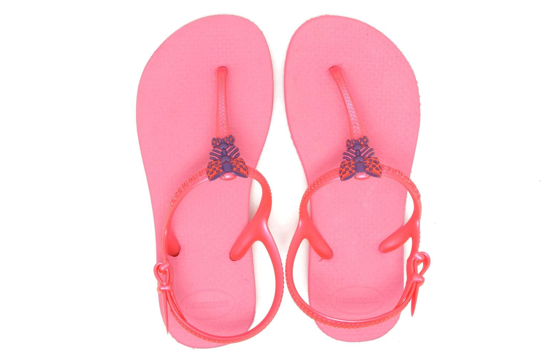 Sandales et nu-pieds Havaianas Kids Freedom Rose vue 3/4